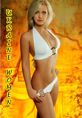 Sexy Ukrainian Women Wearing White Bikini