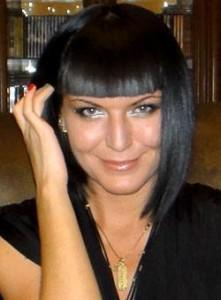 glamorous black hair woman